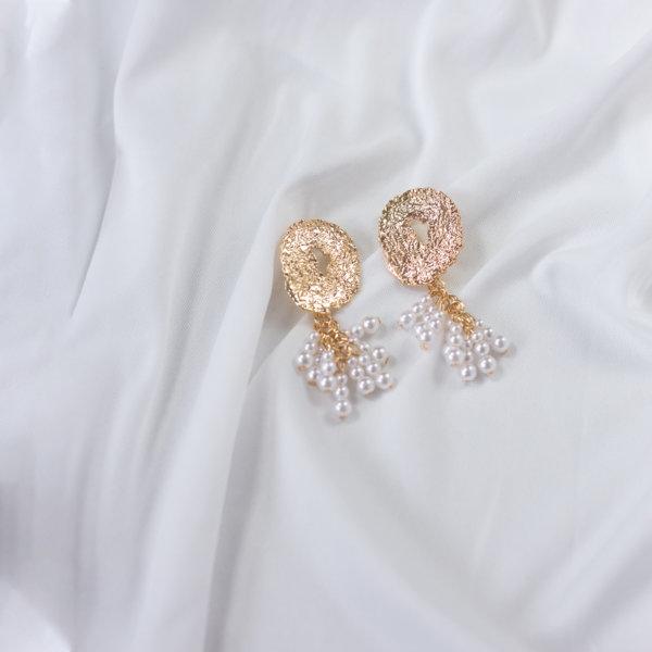 ΚΟΣΜΗΜΑΤΑ Soora σκουλαρίκια χρυσό