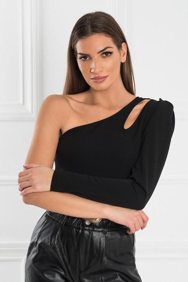 ΠΟΥΚΑΜΙΣΑ Sabby μπλούζα μαύρο