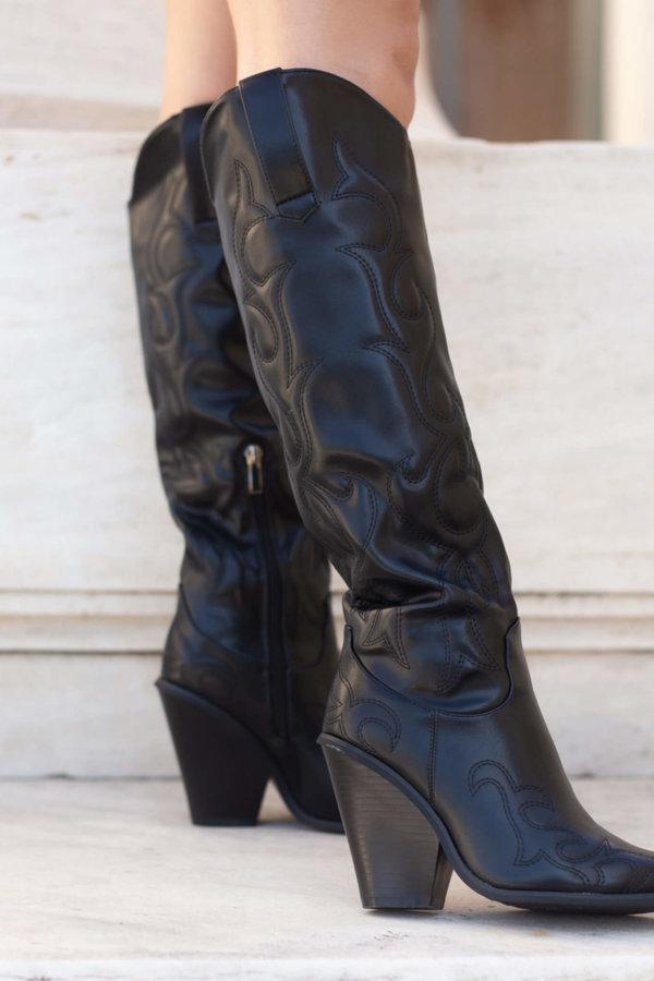 ΜΠΟΤΕΣ Alienor μπότες μαύρο
