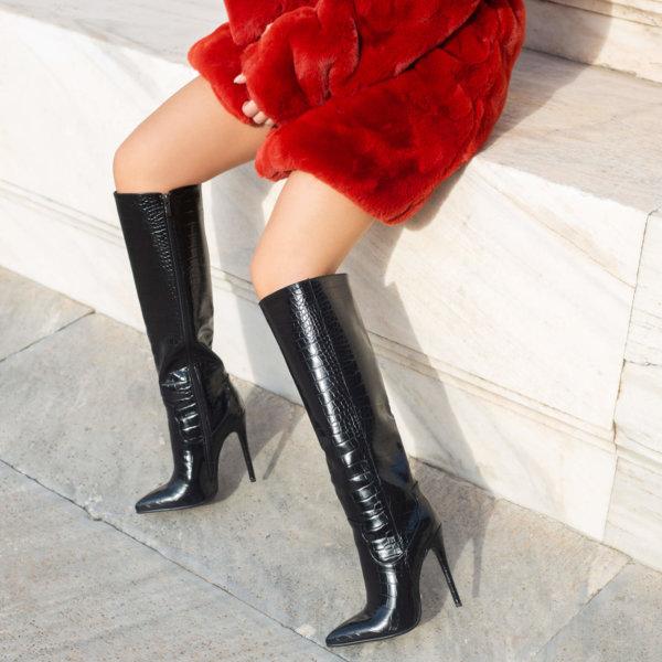 ΠΑΠΟΥΤΣΙΑ Agata boots μαύρο