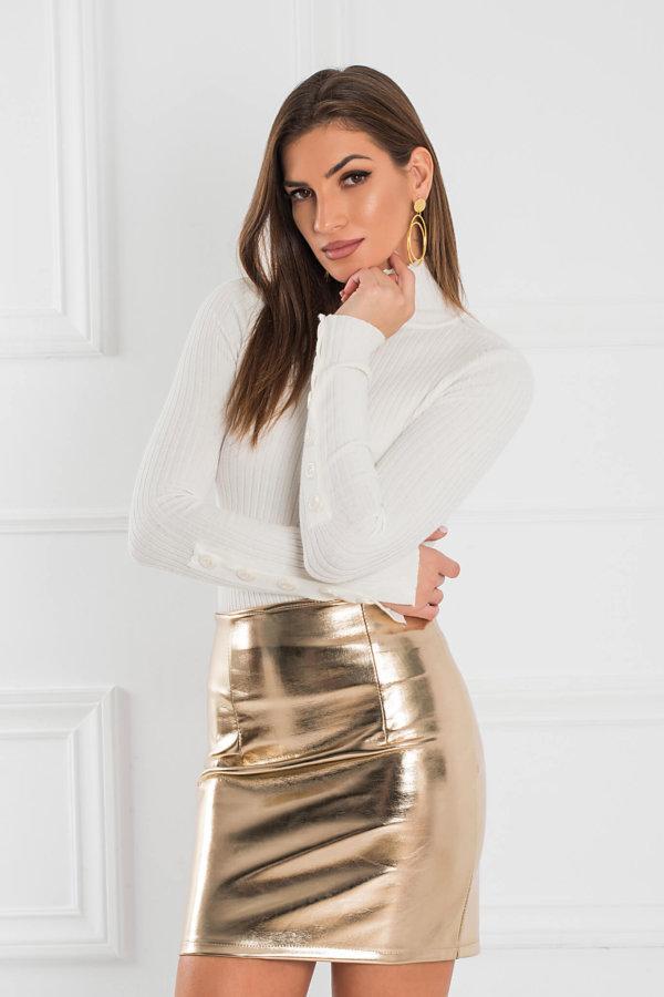 ΦΟΥΣΤΕΣ Zenna φούστα χρυσό