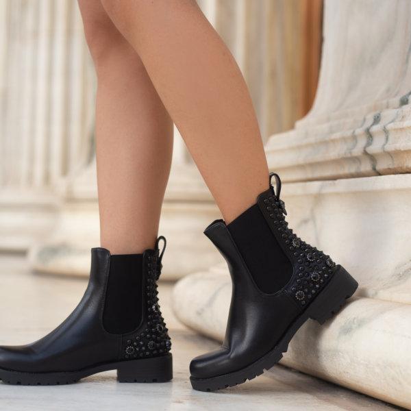 ΠΑΠΟΥΤΣΙΑ Arkadina ankle boots μαύρο