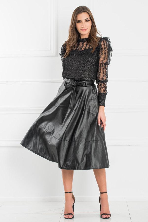 ΦΟΥΣΤΕΣ Leonie φούστα μαύρο