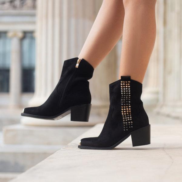 ΠΑΠΟΥΤΣΙΑ Ania ankle boots μαύρο