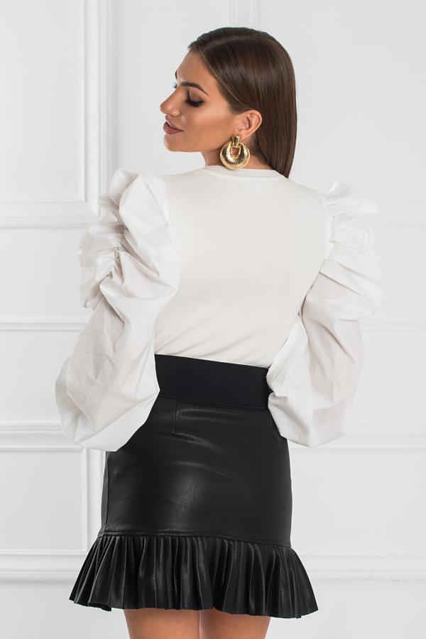 ΠΛΕΚΤΑ Bibi μπλούζα λευκό