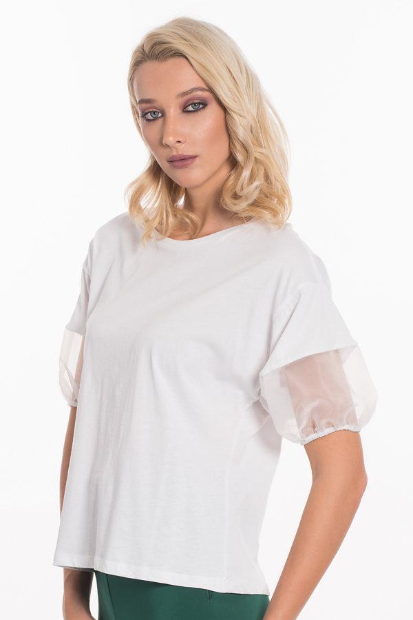 ΜΠΛΟΥΖΕΣ Aisha μπλούζα λευκό