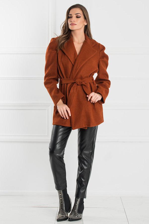 ΠΑΛΤΟ Lia παλτό κεραμιδί