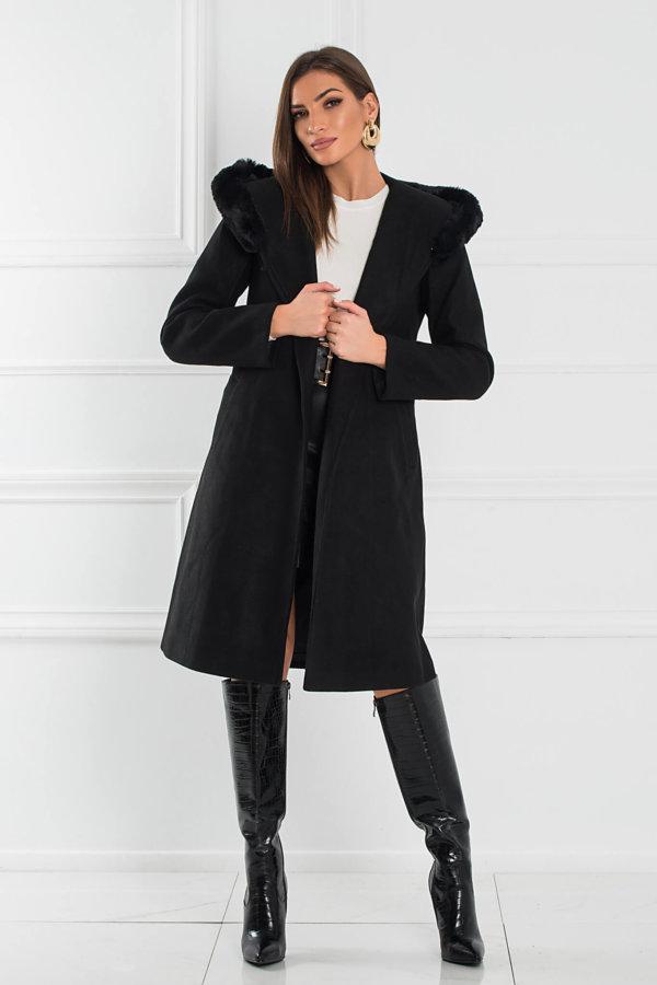 ΠΑΛΤΟ Tonsy παλτό μαύρο