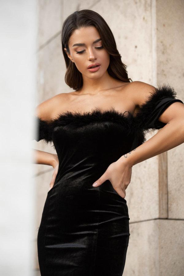 Apocalypse φόρεμα μαύρο