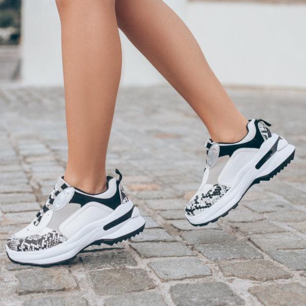 ΑΘΛΗΤΙΚΑ Celestia sneakers white snake