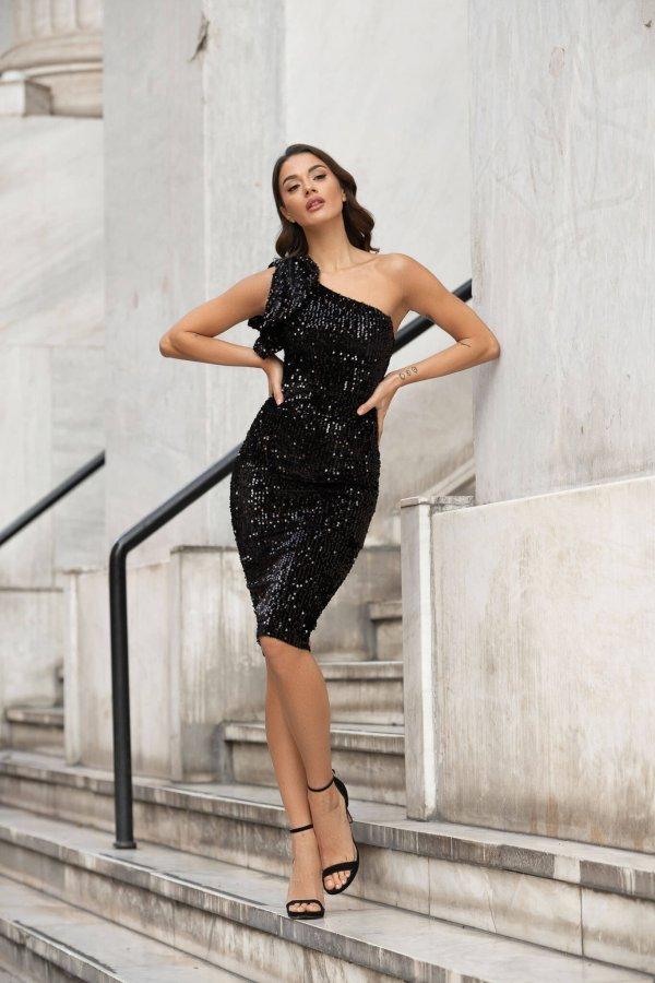 Adamina φόρεμα μαύρο