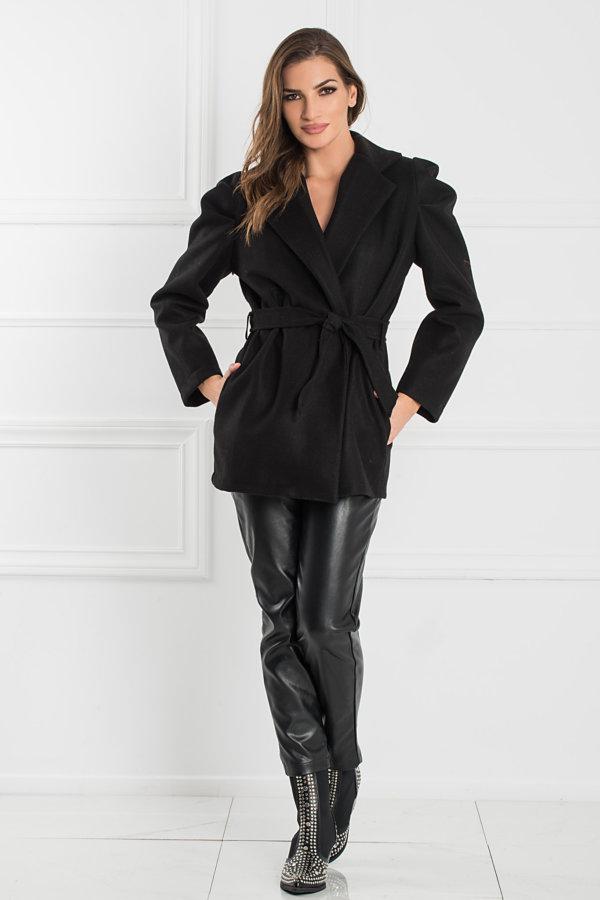 ΠΑΛΤΟ Lia παλτό μαύρο