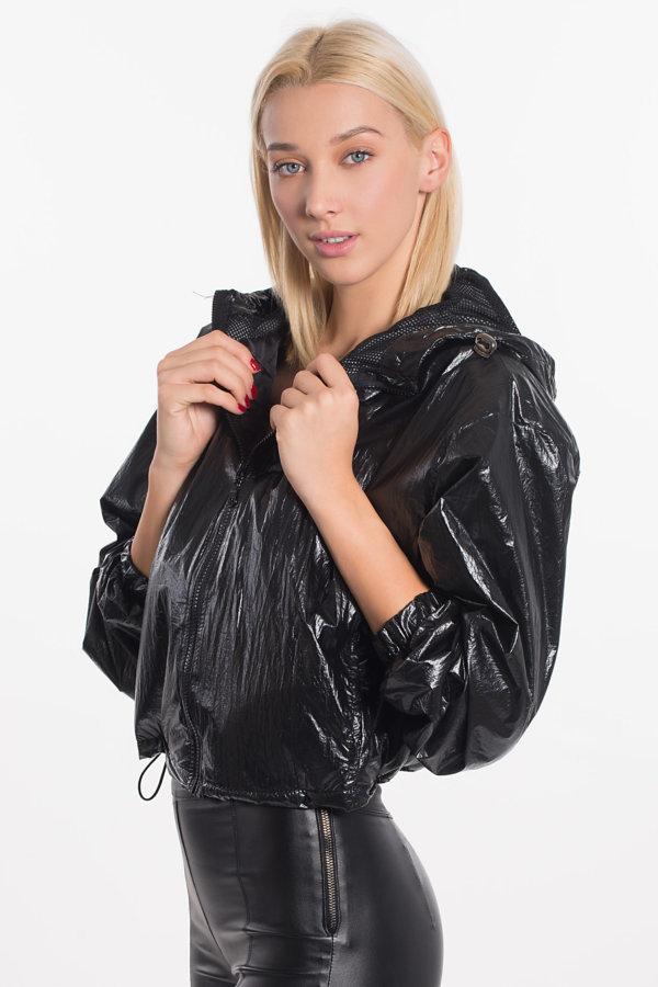 ΜΠΟΥΦΑΝ Mugler bomber jacket μαύρο