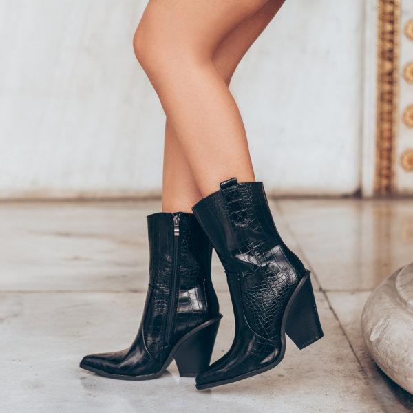 ΠΑΠΟΥΤΣΙΑ Annik boots μαύρο