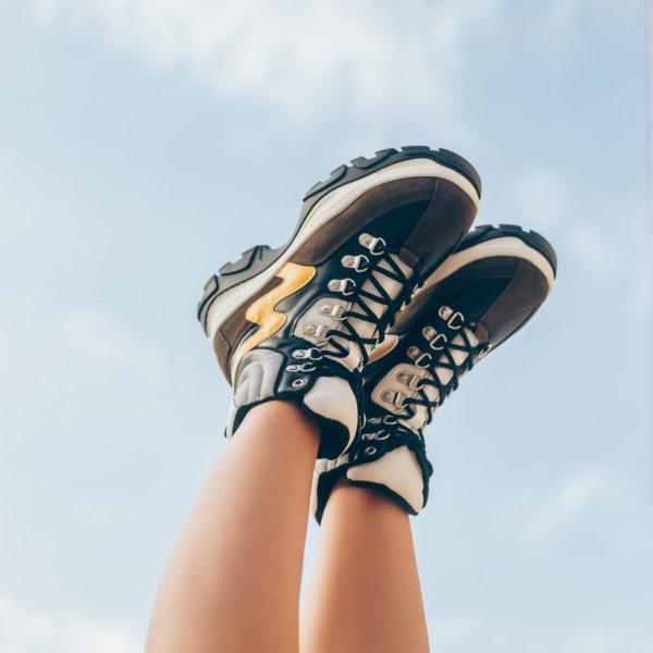 ΑΘΛΗΤΙΚΑ Daria sneakers κίτρινο