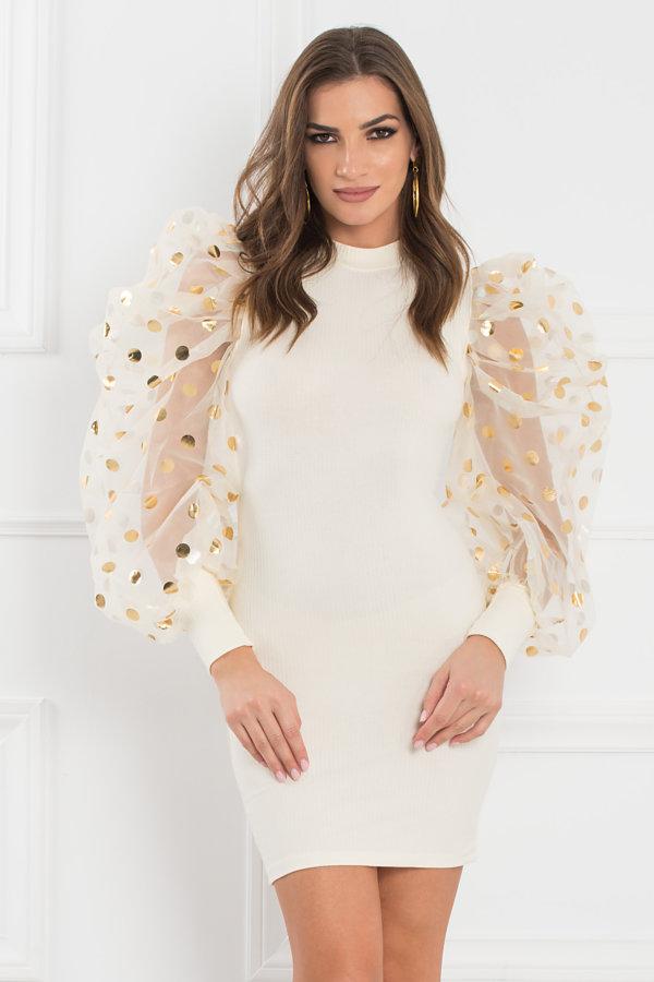 ΦΟΡΕΜΑΤΑ ΠΡΟΣΦΟΡΕΣ Comet φόρεμα λευκό