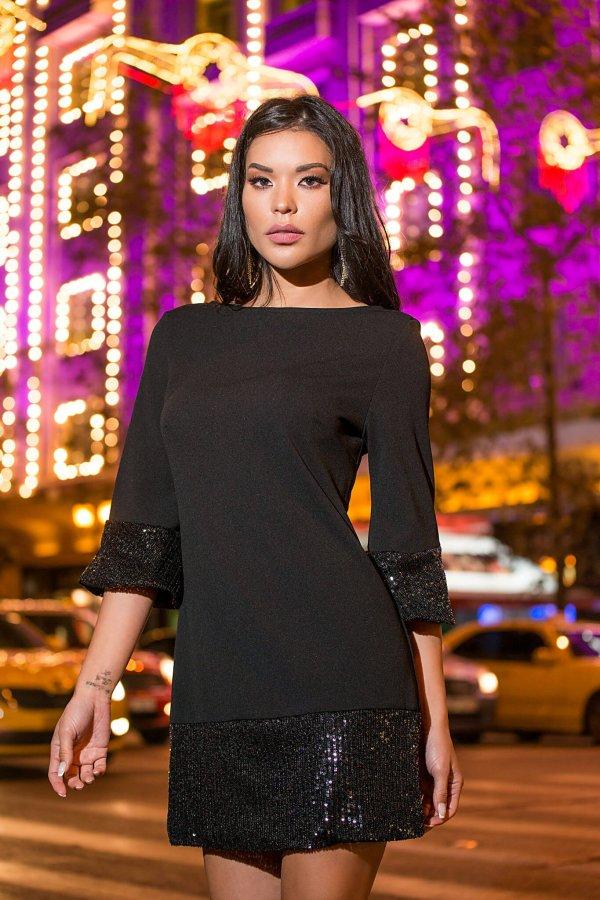 Blair φόρεμα μαύρο