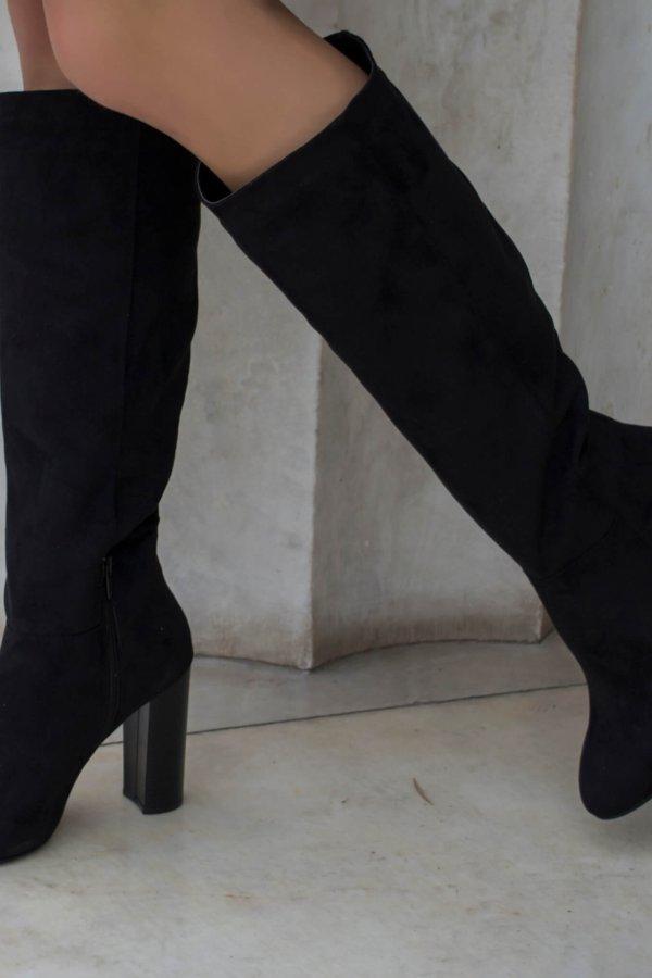 ΜΠΟΤΕΣ Sia μπότες μαύρο
