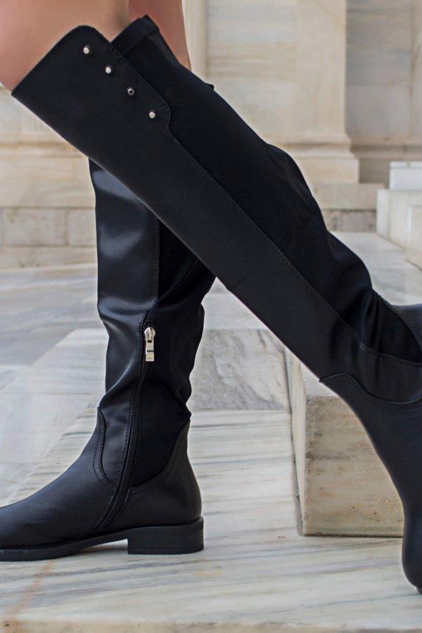 ΜΠΟΤΕΣ Simone μπότες μαύρο