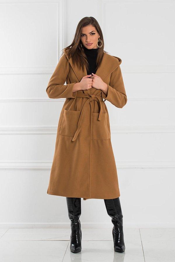 ΠΑΛΤΟ Vionnet παλτό κάμελ