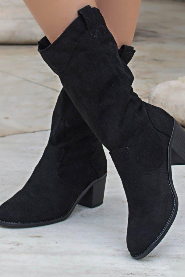 ΜΠΟΤΕΣ Yolanda μπότες μαύρο