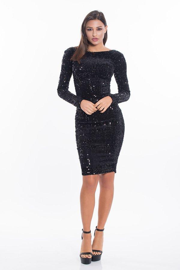 Agnetha φόρεμα μαύρο
