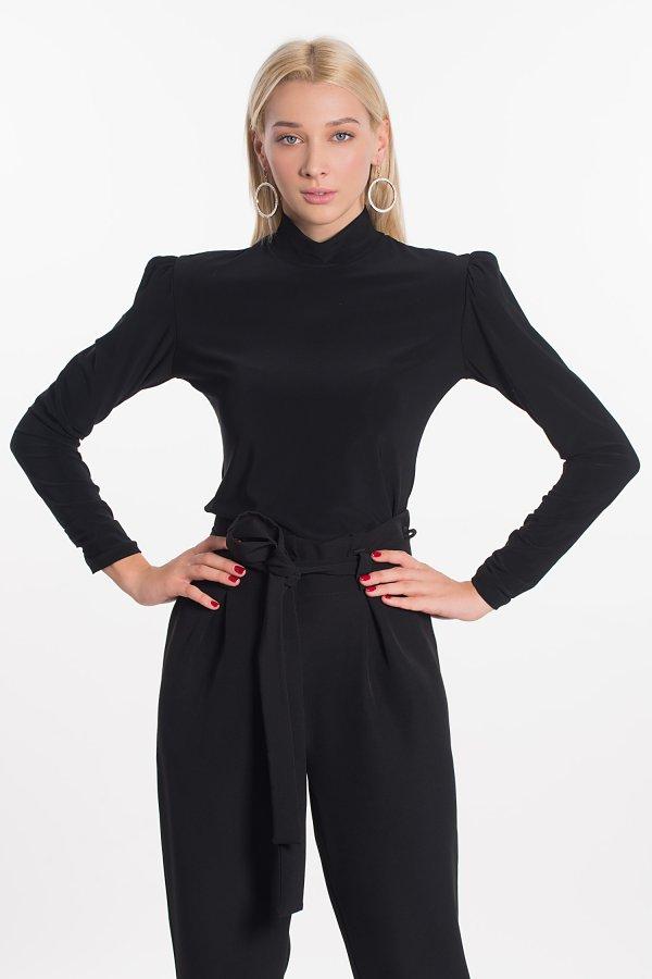ΠΟΥΚΑΜΙΣΑ Idoll μπλούζα μαύρο