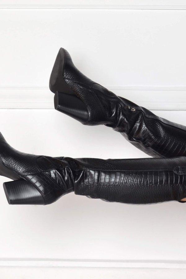 ΜΠΟΤΕΣ Jasmel μπότες μαύρο