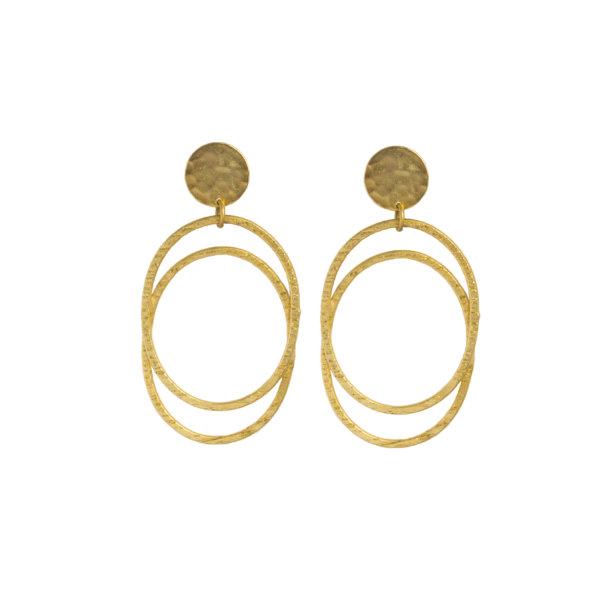 ΚΟΣΜΗΜΑΤΑ Belva σκουλαρίκια χρυσό