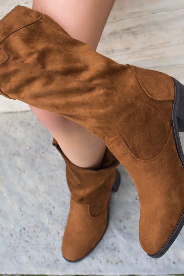 ΜΠΟΤΕΣ Yolanda μπότες taba