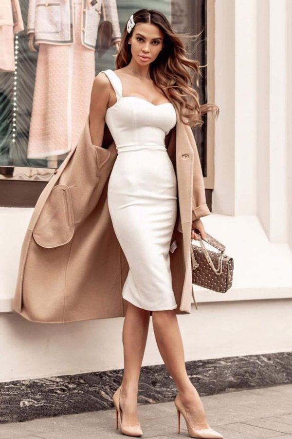 ΦΟΡΕΜΑΤΑ ΠΡΟΣΦΟΡΕΣ Kirk φόρεμα λευκό