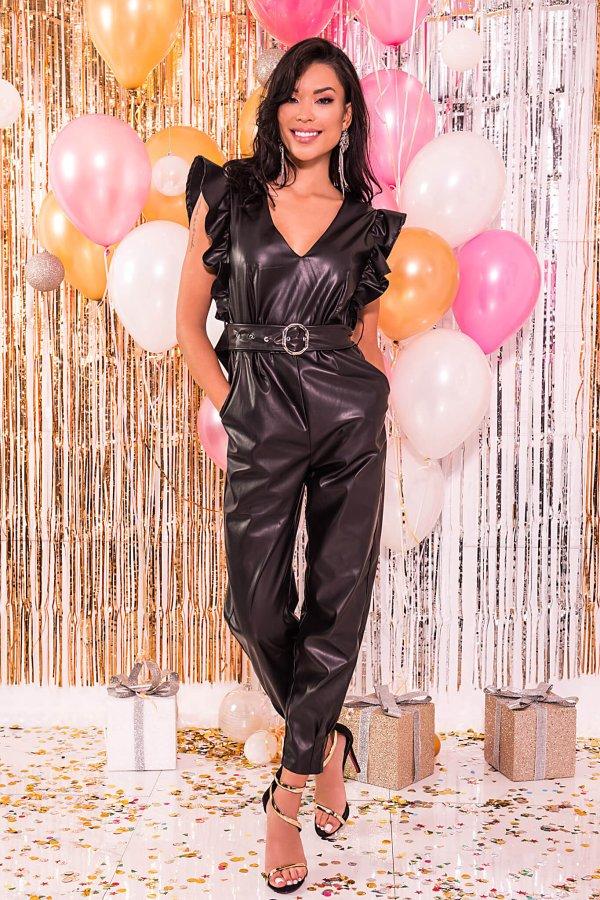 ΟΛΟΣΩΜΕΣ ΦΟΡΜΕΣ Nicole ολόσωμη φόρμα μαύρο