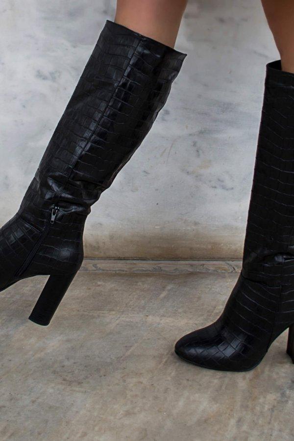 ΜΠΟΤΕΣ Sierra μπότες μαύρο