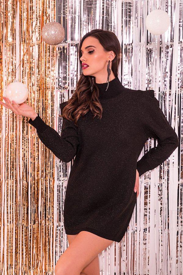 ΜΙΝΙ ΦΟΡΕΜΑΤΑ Avila φόρεμα μαύρο