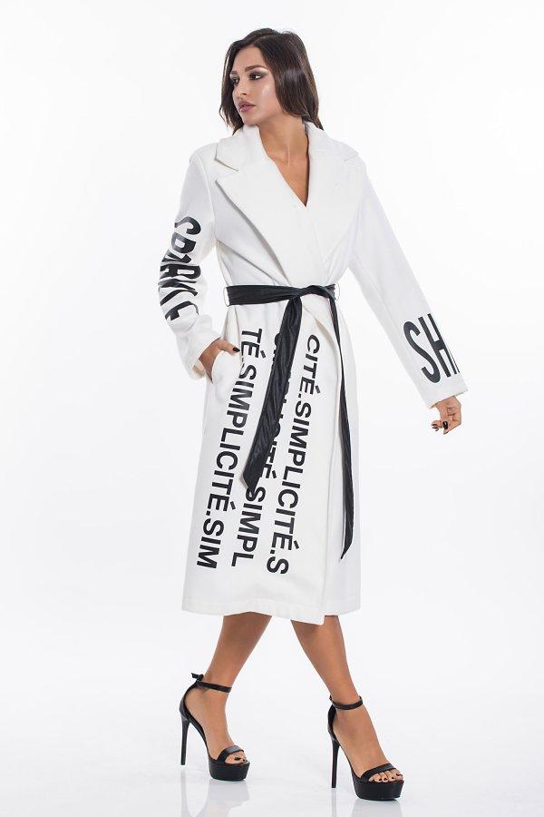 ΠΑΛΤΟ Ilda παλτό λευκό