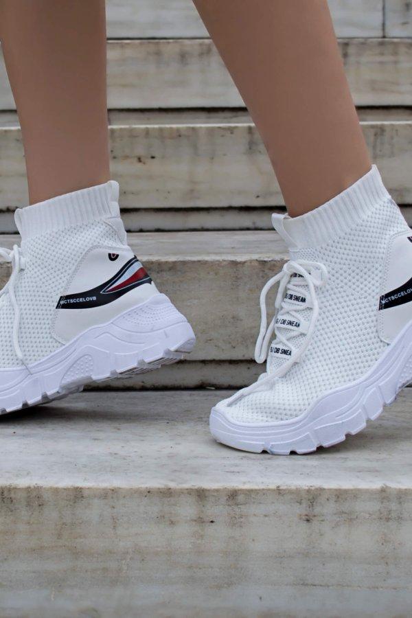ΜΠΟΤΑΚΙΑ Sutton sneakers λευκό