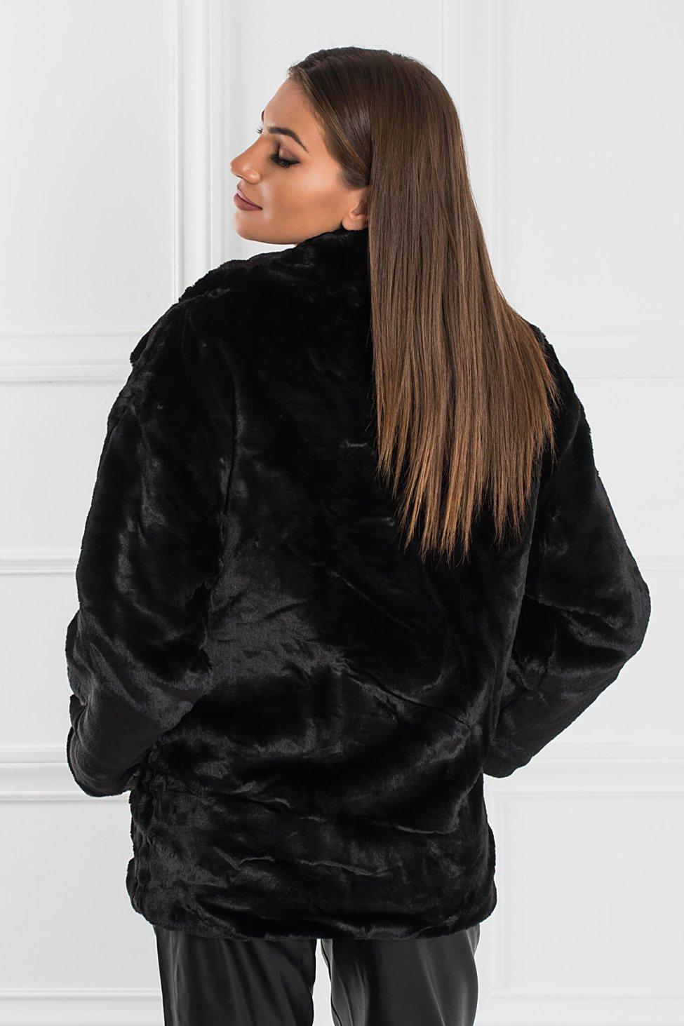 Elna γούνα μαύρο