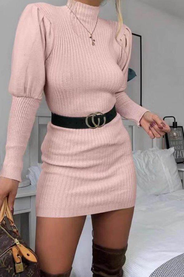 ΠΛΕΚΤΑ Danica πλεκτό ροζ