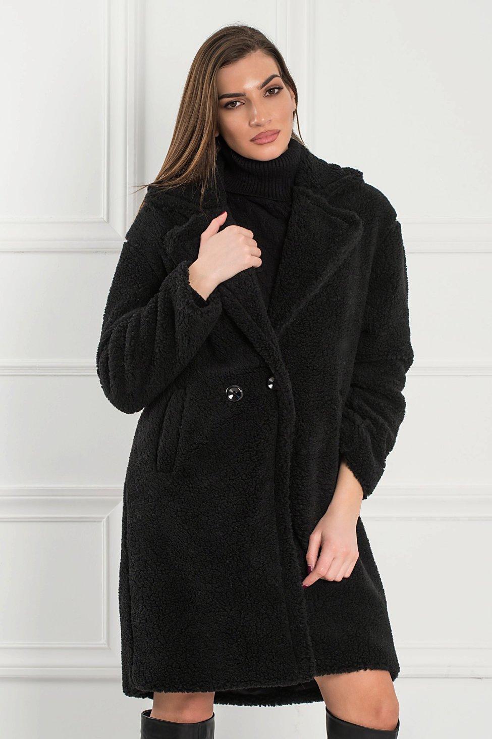 Winnie γούνα μαύρο