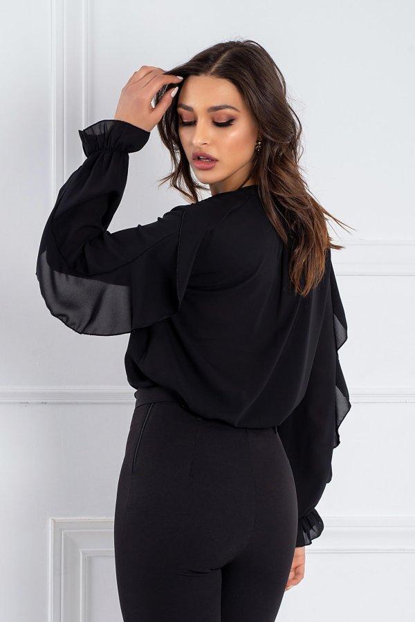 ΤΟΠ ΠΡΟΣΦΟΡΕΣ Camelia πουκάμισο μαύρο