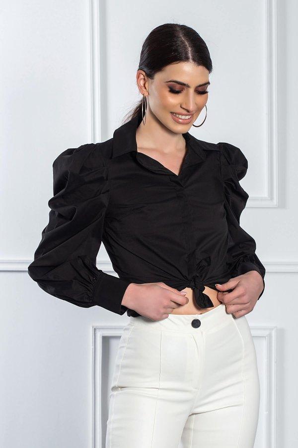 ΜΠΛΟΥΖΕΣ Crux πουκάμισο μαύρο