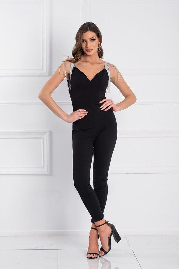 Aneth ολόσωμη φόρμα μαύρο