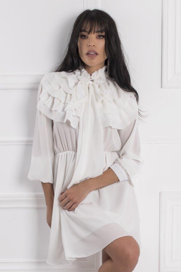 ΠΡΟΣΦΟΡΕΣ Amara φόρεμα λευκό