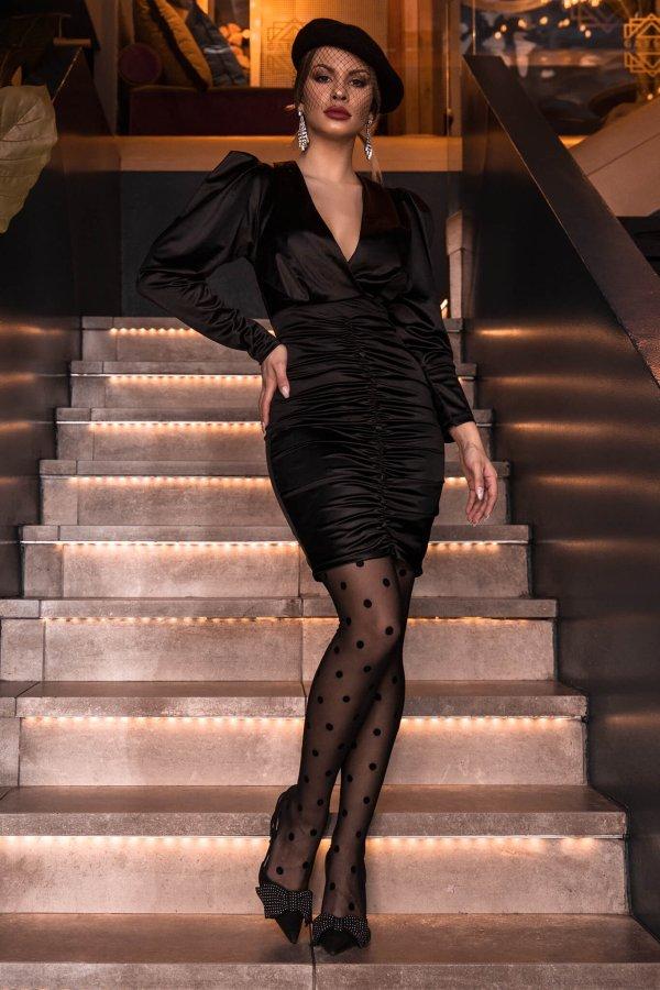ΦΟΡΕΜΑΤΑ ΠΡΟΣΦΟΡΕΣ Darby φόρεμα μαύρο