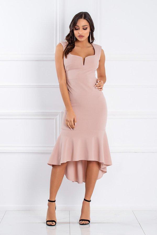 Aniwa φόρεμα σομόν