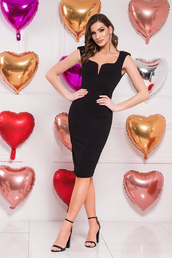 Angie φόρεμα μαύρο