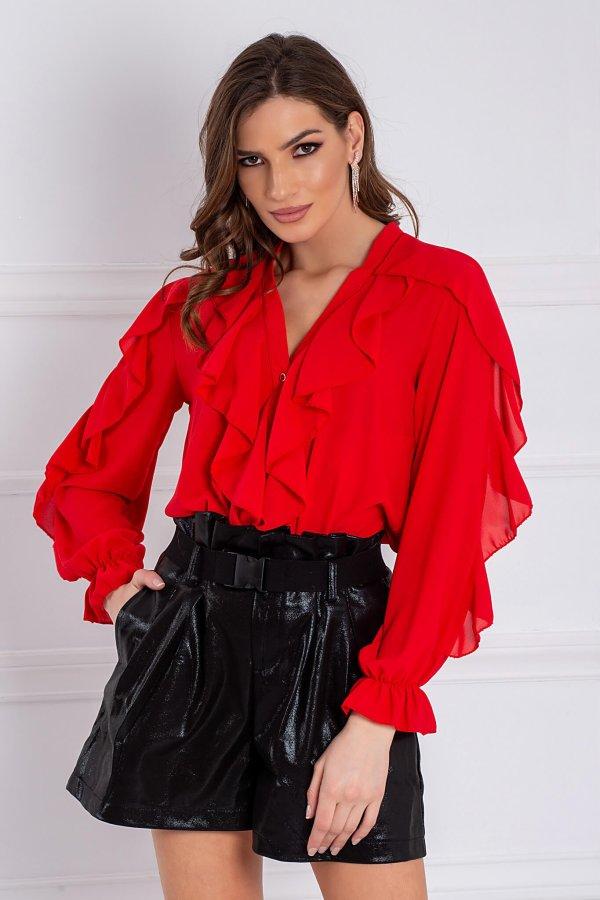 ΤΟΠ ΠΡΟΣΦΟΡΕΣ Camelia πουκάμισο κόκκινο