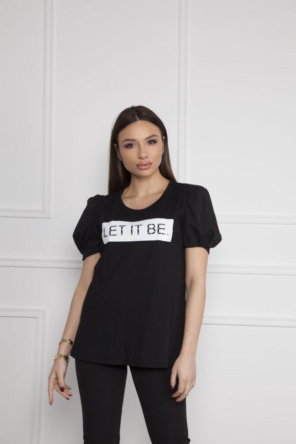 TSHIRTS Karina t-shirt μαύρο