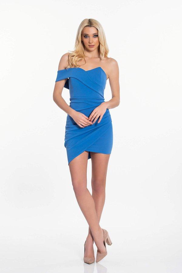 Amoret φόρεμα σιελ