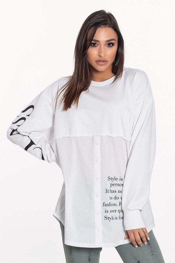 Acton μπλούζα λευκό